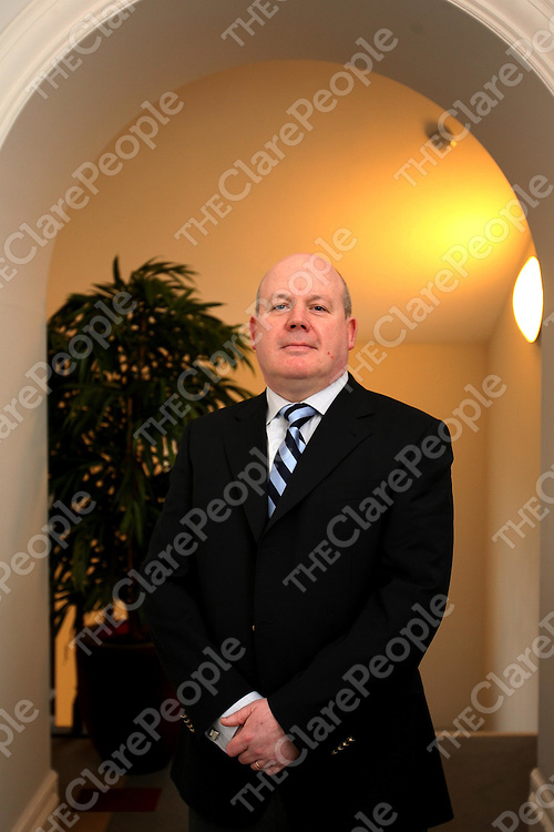 Paul J Coady ,new President of Kilrush Chamber of Commerce.<br />