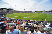 The Ageas bowl during the first day of the 4th SpecSavers International Test Match 2018 match between England and India at the Ageas Bowl, Southampton, United Kingdom on 30 August 2018.
