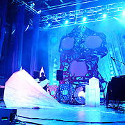 WASHINGTON, DC - July 9th, 2011 - Avey Tare, Geologist and Deakin of Animal Collective perform at Merriweather Post Pavilion in Columbia, MD. The band named their eighth studio album after the venue.  (Photo by Kyle Gustafson/For The Washington Post)