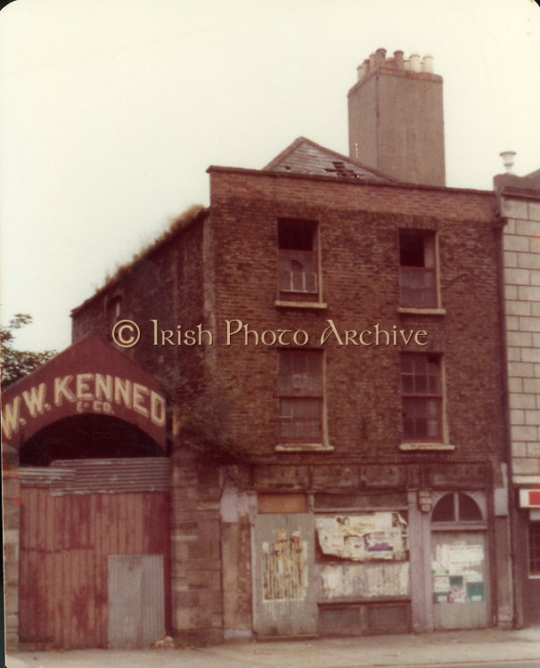 Old Dublin Amature Photos October 1983 WITH, Bolton St, Salvation Army Hostel, Halston St, Parnell St, lane, Fire Station, Fitzgibbon St, Lord Edward St, Cinema Thomas St, Tailors Hall, Crhistchurch, Vicarage, W.W. Kennedy,