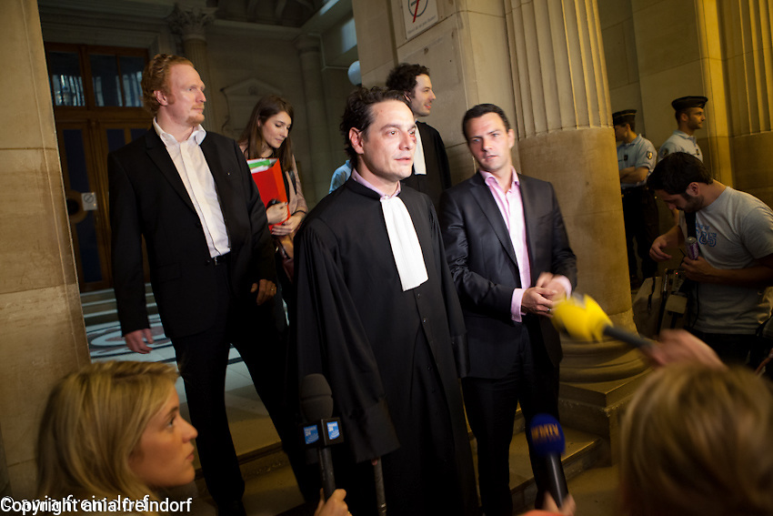 Process Jérôme Kerviel French trader who has a pending appeal of his conviction in the January 2008 Société Générale trading loss incident for breach of trust, resulting in losses valued at ?4.9 billion, David Koubbi, his lawyer on the final day of his four-week long appeal against the five-year prison sentence, that was imposed on him in 2010