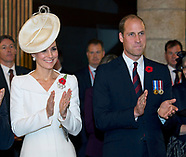 Kate, William, Queen Mathilde & King Philippe - Passchendaele