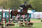 Richard Skelt on TCS Rubicon during the International Horse Trials at Chatsworth, Bakewell, United Kingdom on 11 May 2018. Picture by George Franks.