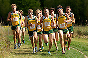The University of Vermont hosts a cross country meet agiainst St. Michael's and Columbia at the Catamount Family Center on Sunday morning September 9, 2012 in Williston, Vermont.