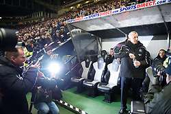 NEWCASTLE, ENGLAND - Saturday, December 11, 2010: Newcastle United's new manager Alan Pardew before the Premiership match against Liverpool at St James' Park. (Photo by: David Rawcliffe/Propaganda)