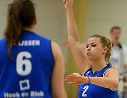 12-04-2014 NED: Finale vv Alterno - Sliedrecht Sport, Apeldoorn<br /> Alterno pakt het kampioenschap door Sliedrecht voor de derde maal te verslaan / Inge Molendijk
