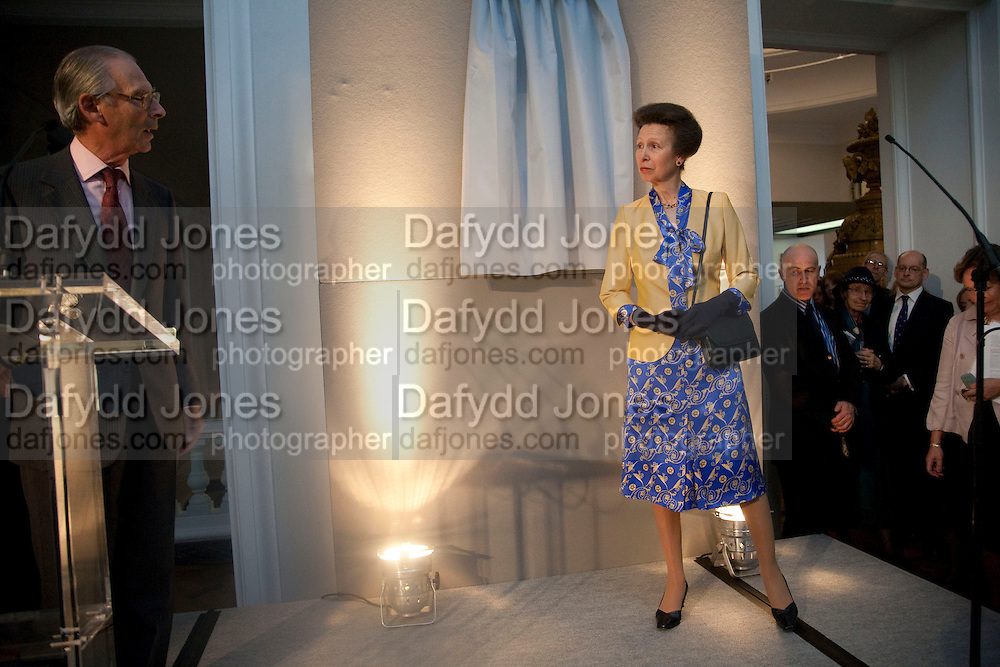 SIR TIM SAINSBURY; THE PRINCESS ROYAL, Opening of the V. and A.'s New Ceramics Galleries by the Princess Royal. V. & A. London. 16 September 2009