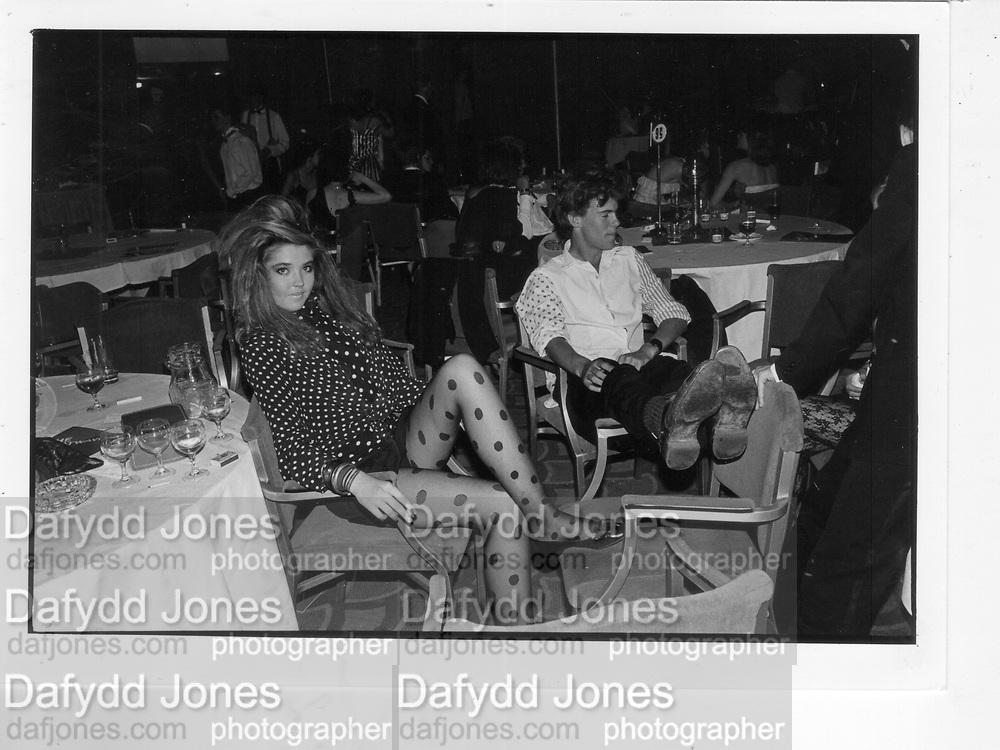 Tamara Beckwith. Heatwave Ball. 1986. *** Local Caption *** -DO NOT ARCHIVE-© Copyright Photograph by Dafydd Jones 66 Stockwell Park Rd. London SW9 0DA Tel 020 7733 0108 www.dafjones.com