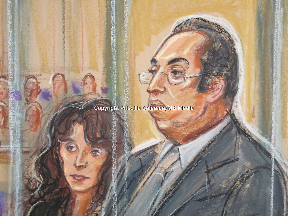Italian Danilo Restivo appears at Winchester Crown accused of the murder of Heather Barnett in 2002