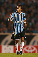 20090702: BELO HORIZONTE, BRAZIL - Gremio vs Cruzeiro: Copa Libertadores 2009 - Semi Finals - 2nd Leg. In picture: Souza (Gremio) celebrating goal. PHOTO: CITYFILES