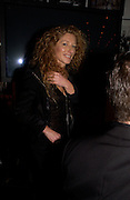 Kelly Hoppen, Opening of Floridita, Wardour St. London. 21 October 2004. ONE TIME USE ONLY - DO NOT ARCHIVE  © Copyright Photograph by Dafydd Jones 66 Stockwell Park Rd. London SW9 0DA Tel 020 7733 0108 www.dafjones.com