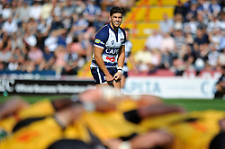 Ben Mosses of Bristol Rugby watches a scrum - Photo mandatory by-line: Patrick Khachfe/JMP - Mobile: 07966 386802 21/09/2014 - SPORT - RUGBY UNION - Bristol - Ashton Gate - Bristol Rugby v Cornish Pirates - GK IPA Championship.