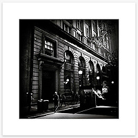 &quot;Barrack Street&quot;, Sydney. From the Ephemeral Sydney street series.<br />
