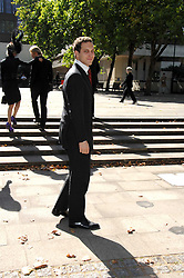 LORD FREDERICK WINDSOR at the memorial service of Isabella Blow held at the Guards Chapel, London W1 on 18th September 2007.<br /><br />NON EXCLUSIVE - WORLD RIGHTS