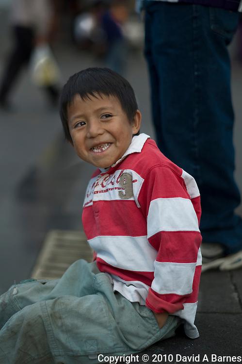 Boy, Quito, Ecuador