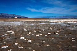 Devil's Golf Course salt flats, Death Valley National Park, California, United States of America