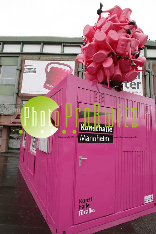 Mannheim. 14.12.2011. Innenstadt. Kunsthalle.<br /> <br /> <br /> Bild: Markus Proflwitz 14DEC11 / masterpress /