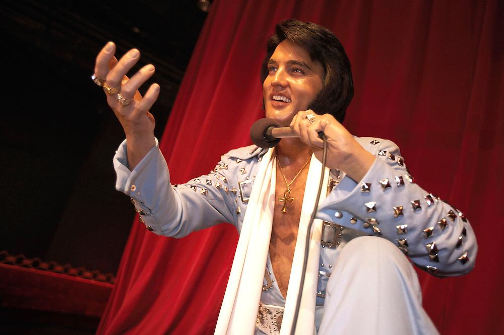 Wax Elvis Presley.Madame Tussaud's Wax Museum.Las Vegas, Museum