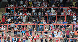 General crowd image. - Photo mandatory by-line: Harry Trump/JMP - Mobile: 07966 386802 - 18/07/15 - SPORT - FOOTBALL - Pre Season Fixture - Exeter City v Bournemouth - St James Park, Exeter, England.