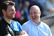 Keith Hill during the EFL Sky Bet League 1 match between Shrewsbury Town and Rochdale at Greenhous Meadow, Shrewsbury, England on 8 April 2017. Photo by Daniel Youngs.