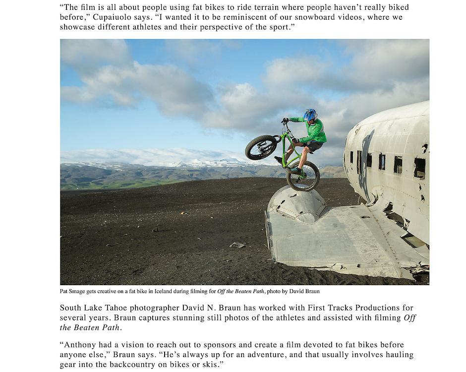 Image: &quot;S&oacute;lheimasandur Engine Bounce&quot;<br /> Athlete:  Pat Smage