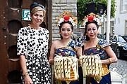 Koningin Máxima opent Asian Library Universiteit Leiden gehouden  in de Pieterskerk in Leiden<br /> <br /> Queen Máxima opens Asian Library Leiden University held in the Pieterskerk in Leiden<br /> <br /> op de foto / On the photo: Aankomst / Arrival