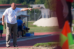 Brkic Sinisa head coach of NK Triglav during football match between NK Triglav Kranj and NK Domzale, 5th Round of Prva Liga, on 12 August, 2012, in Sportni center, Kranj, Slovenia. (Photo by Grega Valancic / Sportida)