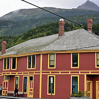Klondike Gold Rush Visitors Center in Skagway, Alaska <br />