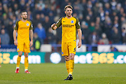 Brighton and Hove Albion midfielder Dale Stephens (6)  during the Premier League match between Huddersfield Town and Brighton and Hove Albion at the John Smiths Stadium, Huddersfield, England on 9 December 2017. Photo by Simon Davies.