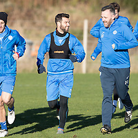 St Johnstone Training 18.11.16