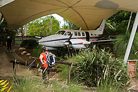 The Royal Flying Doctor Service in Cairns, far north Queensland, Australia is a living museum to the history of the service.
