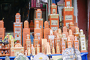 Souvenir shop in the Ourika Valley, Morocco