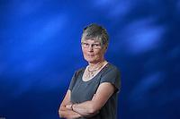 Dorothy H Crawford is a Edinburgh-based microbiologist. Edinburgh International Book Festival 2013 portait of Dorothy H Crawford at Charlotte Square Garden. <br /> <br /> Pic by Pako Mera