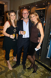 Left to right, HARRIET RICHARDSON, SEBASTIAN SAINSBURY and KAREN RICHARDSON at a party to celebrate the publication of Bebe Blue and the Evil Gangsta Rappers by Ashley Hicks, held at 28 Cadogan Place, London SW1 on 15th November 2006.<br />
