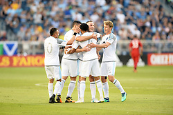 June 4, 2018 - Kansas City, Kansas, U.S.A - Kansas City, Kansas - June 3, 2018:..Sporting Kansas City defeated Minnesota United F.C. 4-1 in a Major League Soccer (MLS) game at Children's Mercy Park. (Credit Image: © Bill Barrett/ISIPhotos via ZUMA Wire)
