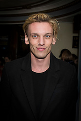 Jamie Campbell Bower attends the Beginning press night at the Ambassadors Theatre, London. Picture date: Tuesday 23rd January 2018.  Photo credit should read:  David Jensen/ EMPICS Entertainment