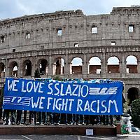 """""""We Love S.S. Lazio 1900 - We Fight Racism"""""""