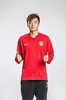 **EXCLUSIVE**Portrait of Chinese soccer player Liao Junjian of Hebei China Fortune F.C. for the 2018 Chinese Football Association Super League, in Marbella, Spain, 26 January 2018.