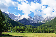 Slovenia, Julian Alps, in the northwestern Upper Carniola region, and part of Triglav National Park.