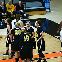Women's Basketball: Gustavus Adolphus College Gusties vs. University of Wisconsin, Whitewater Warhawks