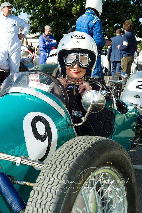 Shirley Monroe, Goodwood Revival 2011 Goodwood