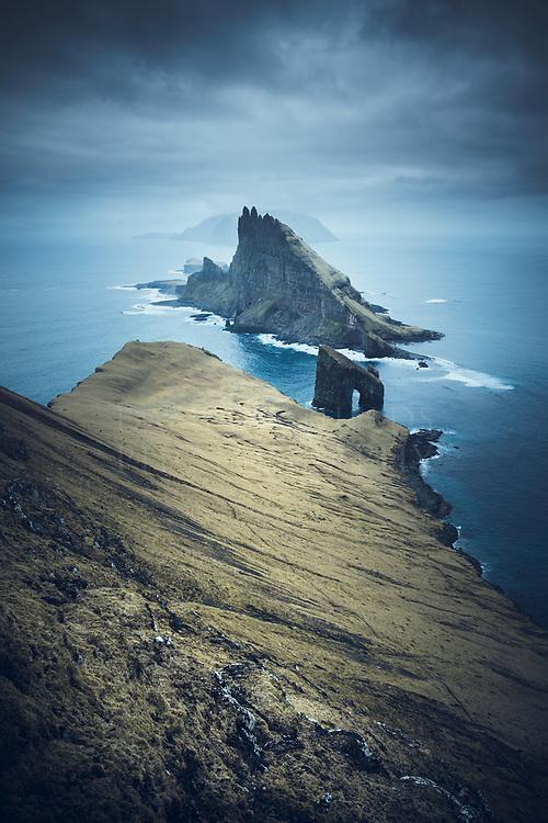 Tindhólmur, Faroe Islands.