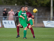 FC Menziehill (maroon) v Hilltown Hotspurs (green) - Dundee Sunday Morning Football League, Adamson Cup Final at North End<br /> <br />  - &copy; David Young - www.davidyoungphoto.co.uk - email: davidyoungphoto@gmail.com