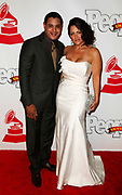 Sammy Sosa and Sonia Sosa attend the Latin Grammy After Party at the Mandalay Bay Hotel in Las Vegas, Nevada on November 5, 2009.