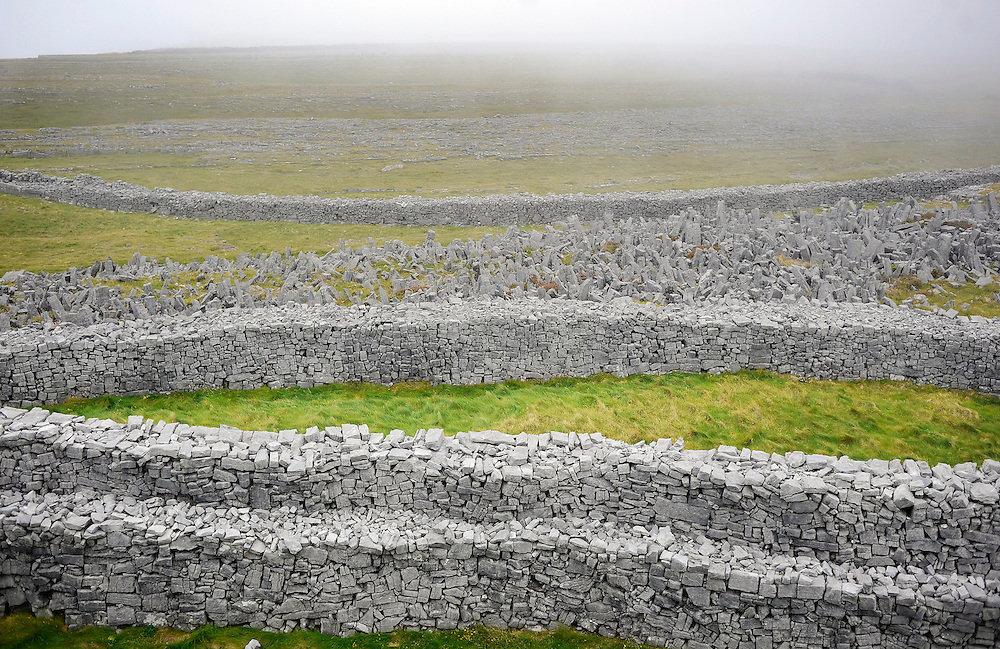 Dún Aengus on Inishmore, the largest of the Aran Islands, Co. Galway, Ireland.