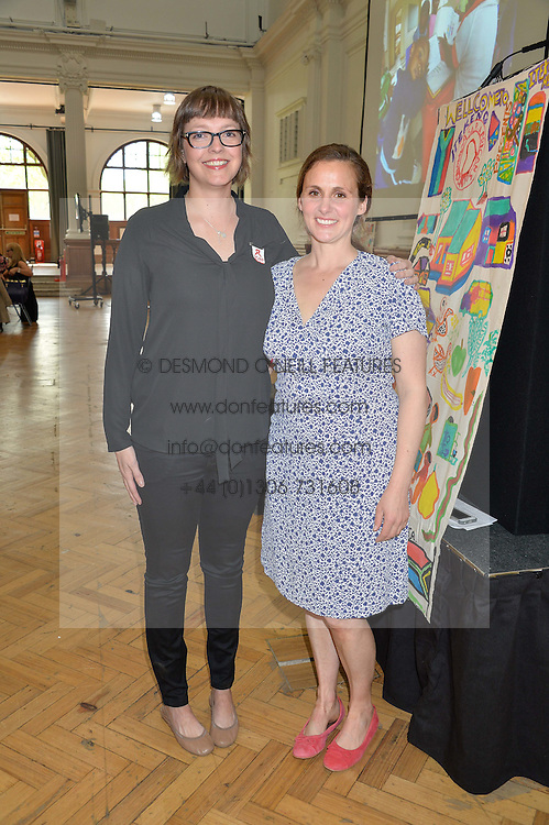 Left to right, SERAI HERBST and ZITA LLOYD at a lunch in aid of the charity African Solutions to African Problems (ASAP) held at the Royal Horticultural Hall, Vincent Square, London on 19th May 2016.