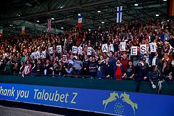 AHLMANN Christian (GER), Taloubet Z<br /> Leipzig - Partner Pferd 2018   <br /> Verabschiedung Taloubet Z aus dem Sport<br /> © www.sportfotos-lafrentz.de/Stefan LafrentzAhlmann Christian, GER, Taloubet Z<br /> Leipzig - Partner Pferd 2018   <br /> Longines FEI World Cup Jumping - Grosser Preis von Leipzig<br /> © Hippo Foto - Stefan Lafrentz<br /> 21/01/2018