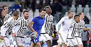 © Filippo Alfero<br /> Juventus-Milan, Serie A 2015/2016<br /> Torino, 21/11/2015<br /> sport calcio<br /> Nella foto: esultanza giocatori Juve a fine gara