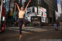 Times Square Dance As Art- The New York Photography Project featuring Julian Watson.