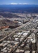 Aerial Of Central Orange County And The 405 Freeway